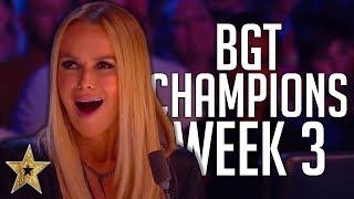 Video Britain's Got Talent: The Champions Auditions! | WEEK 3 | Got Talent Global MP3, 3GP, MP4, WEBM, AVI, FLV September 2019