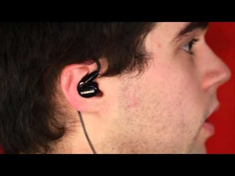 Shure SE215 Headphones + Fitting / How To Put Them On