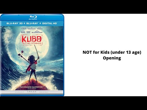 Opening to Kubo and the Two Strings 2016 Blu-ray 3D