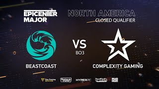 CoL vs beastcoast, EPICENTER Major 2019 NA Closed Quals , bo3, GAME 2 [Adekvat & Lost]