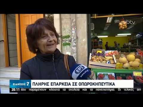 Επάρκεια σε αντισηπτικά και χαρτικά – Ομαλοποιείται ο ανεφοδιασμός της αγοράς | 10/04/2020 | ΕΡΤ