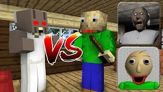Video Monster School : BALDI'S BASICS VS GRANNY HORROR GAME - Minecraft Animation MP3, 3GP, MP4, WEBM, AVI, FLV Oktober 2018