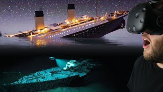 Video Experiencing the Titanic Sinking & Diving For Titanic Treasure! - Titanic VR Gameplay MP3, 3GP, MP4, WEBM, AVI, FLV Desember 2018