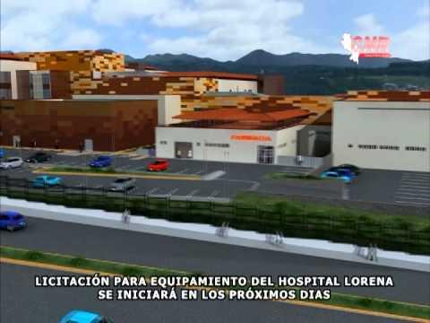 LICITACI�N PARA EQUIPAMIENTO DEL HOSPITAL LORENA SE INICIAR� EN LOS PR�XIMOS DIAS