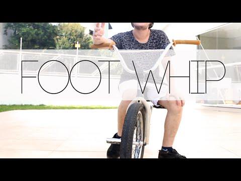 Como mandar - footjam whip - BMX (видео)