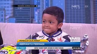 Download Video Abimanyu, Pembalap Cilik Indonesia yang Berprestasi MP3 3GP MP4