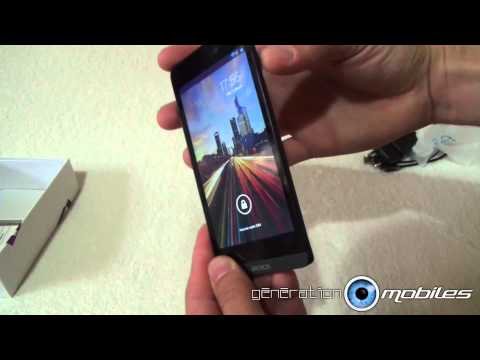 test smartphone Archos 50 Helium 4G unboxing design, part 1