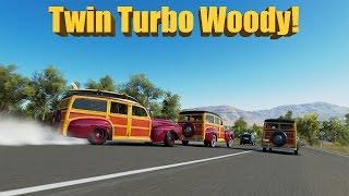 Forza Horizon 3 Ford Woody Twin Turbo Drift Build + MIC IS FIXED