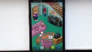 Family Guy Live Wallpaper YouTube video