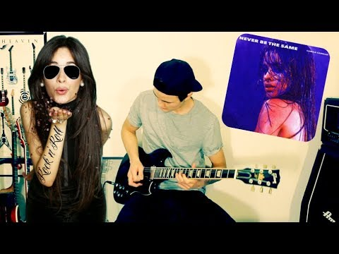 "Camila Cabello ""Never Be the Same"" – Cover (Electric Rock Guitar Cover)"