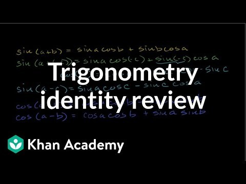 Review of trig angle addition identities (video)   Khan Academy