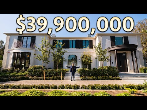 What $39,900,000 Gets You in Beverly Hills | MANSION TOUR