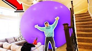 Video WORLD'S BIGGEST BALLOON CHALLENGE! (40+ FT) MP3, 3GP, MP4, WEBM, AVI, FLV September 2019