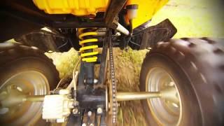 7. Suspensão do quadriciclo CAN-AM DS 250