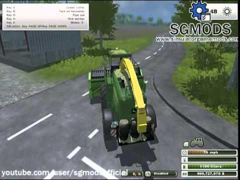 Farming Simulator 2013 - John Deere 7950 Dirt Combine download
