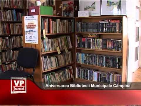 Aniversarea Bibliotecii Municipale Câmpina