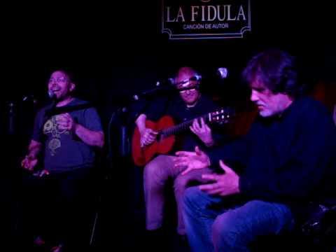 Óleo de mujer con sombrero - Matias Ávalos, Luis Felipe Barrio y Carlos Aguado La Fídula 19-6-2016