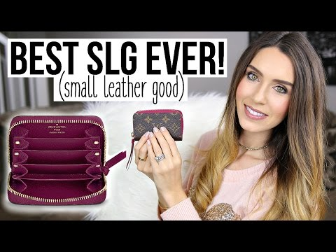 BEST SLG (Small Leather Good) EVER! | Louis Vuitton Zippy Multicartes | Shea Whitney