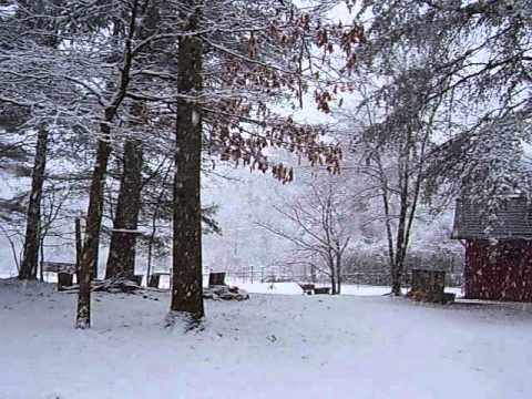 Copy of March 22, 2010, Snow in the N.C. Mountais (видео)