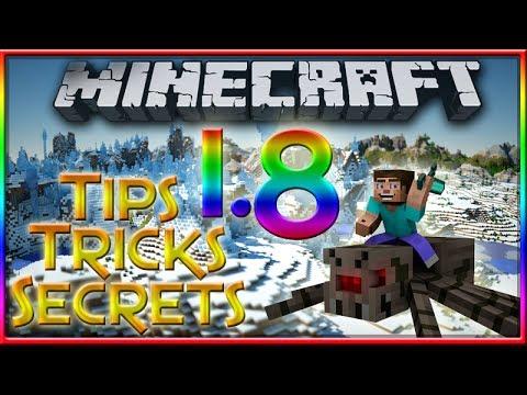 MineCraft 1.8 Tips, Tricks & Secrets! (Episode #1)
