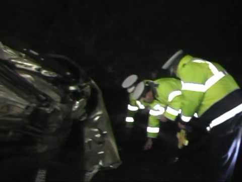Accident cu 2 morti pe DN1