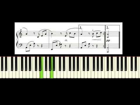 Beethoven Fur Elise Piano Tutorial With Free Sheet Music