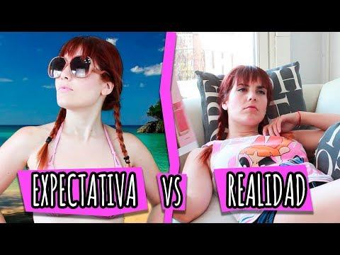 Videos graciosos - EL VERANO: EXPECTATIVAS VS REALIDAD│ Frutilla Picante