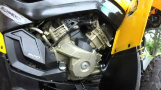 10. Can am Renegade G2 oil change