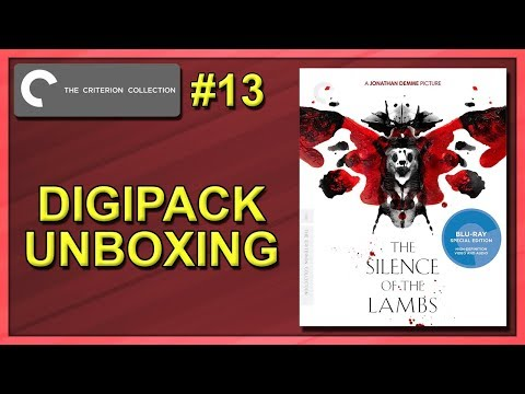 The Silence Of The Lambs Criterion Collection #13 Digipack Unboxing