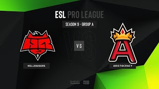 HellRaisers vs Aristocracy - ESL Pro League Season 9 EU - map2 - de_overpass [TheCraggy & ceh9]