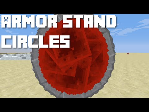 Redstone- Armor Stand Circles