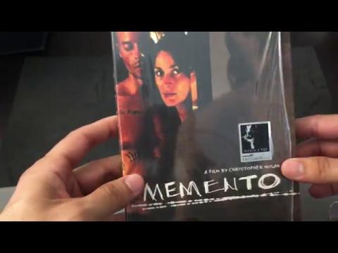 MEMENTO [KIMCHI EXCLUSIVE #15] STEELBOOK BLU RAY REVIEW