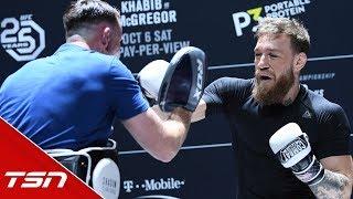 Video Conor McGregor's FULL UFC 229 Open Workout MP3, 3GP, MP4, WEBM, AVI, FLV Oktober 2018