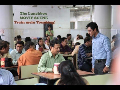 The Lunchbox I Train mein Touching I Movie Scene I