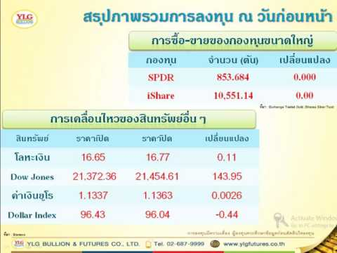 Morning Report Gold Investment 30-06-17