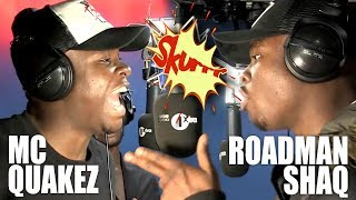 Video Roadman Shaq 'Mans Not Hot' Freestyle - FULL Fire In The Booth MP3, 3GP, MP4, WEBM, AVI, FLV Desember 2018
