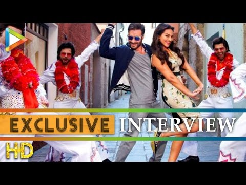 Ajay Devgn Sonakshi Sinha exclusive interview on A