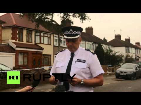 UK: London police comment on