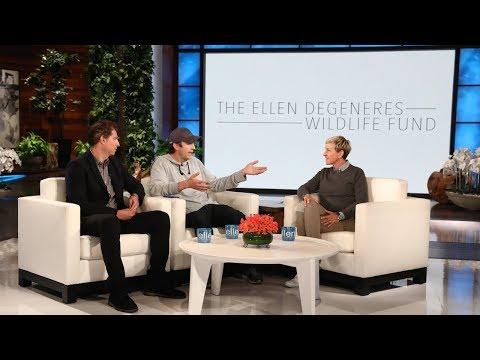 Download Ashton Kutcher Shocks Ellen with Huge Donation HD Mp4 3GP Video and MP3