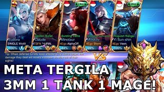 Video RANKED MYTHIC DENGAN 3 MARKSMAN! GILA COYYY!! NO CLICKBAIT MP3, 3GP, MP4, WEBM, AVI, FLV November 2018