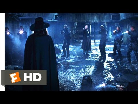 V for Vendetta (2005) - We're Both About to Die Scene (8/8) | Movieclips