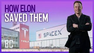 Video How Elon Saved SpaceX & Tesla ... At The Same Time MP3, 3GP, MP4, WEBM, AVI, FLV Juli 2019