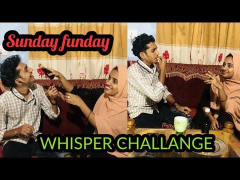 FUNNY WHISPER CHALLANGE Malayalam with Ashik&Mihra