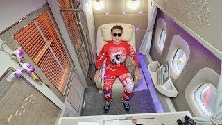Video ALL TIME GREATEST AIRPLANE SEAT - Emirates First Class Suite MP3, 3GP, MP4, WEBM, AVI, FLV September 2018