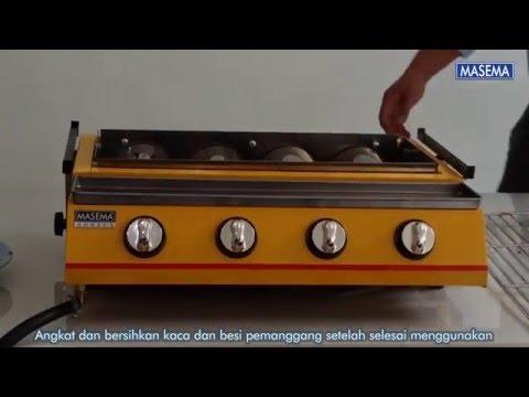 Gas Roaster 4 Burner