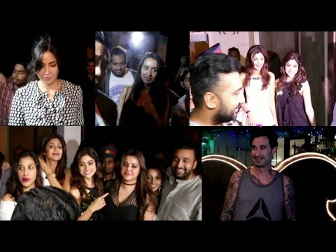 Shraddha Kapoor, Katrina, Samita, Shilpa,Raj Kundra And Alvira Khan Spotted At Bastian Restaurant