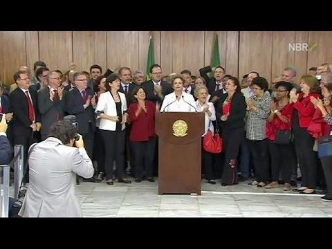 Βραζιλία: Η γραπτή απολογία της Ντίλμα Ρούσεφ