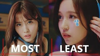 Video TWICE Member with Most Line vs Least Line Distribution in all TWICE MV MP3, 3GP, MP4, WEBM, AVI, FLV Juli 2018