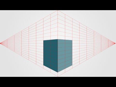 Perspektivische Hilfslinien als Eigene Formen für Photoshop [Download]