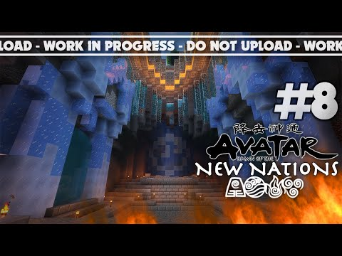 WATER THRONE | Minecraft - Avatar: Dawn of the New Nations [Series] #8
